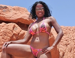 Ravenswallows/MS Valley of Fire Pink Bikini